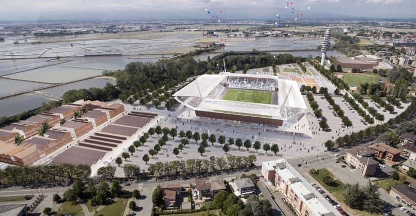 Una nuova cittadella sportiva per il Novara Calcio: i progetti in gara!