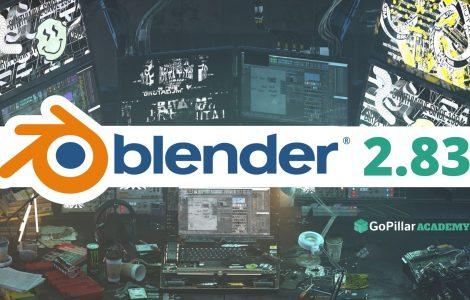 Blender 2.83: l'ultimo arrivato in casa Blender!