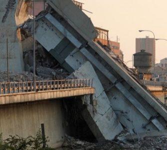Colapso de Morandi. Para la NASA, el Puente sobre el Polcevera comenzó a colapsar en 2015